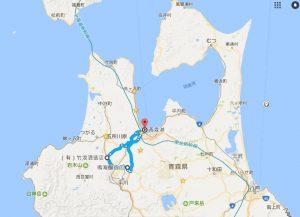 青森ほろ酔い旅地図